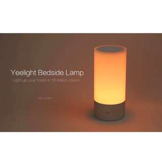 Xiaomi YeeLight Bedside Lamp Nightlights Smart Touch Control 16 Million Colors