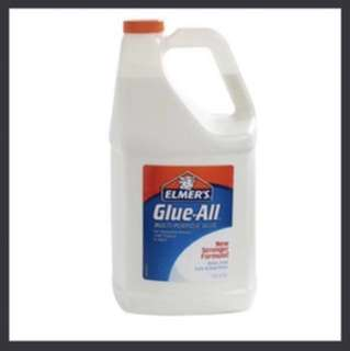 In stock - Elmer's glue-all multi-purpose glue. Extra strong formula, dries fast, safe & non-toxic