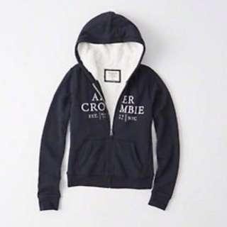 Abercrombie fleece hoodie