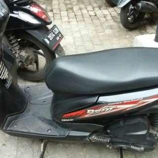 Honda beat hitam 2014