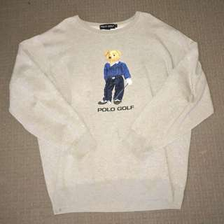 Vintage Polo Golf sweater
