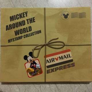 Mickey Around The World My Stamp Collection