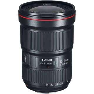 Canon 16-35 f/2.8L mk3