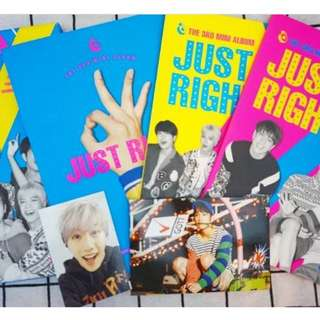Got7 just right專輯