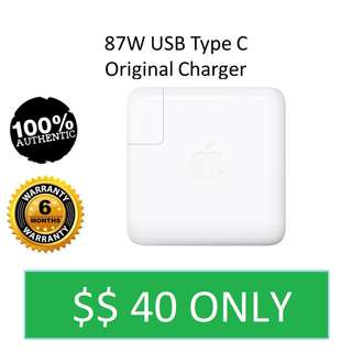 In Stock 87W USB Type C Original Apple Charger