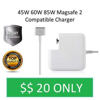 In Stock 45W 60W 85W Macbook Magsafe 2 Compatible Charger