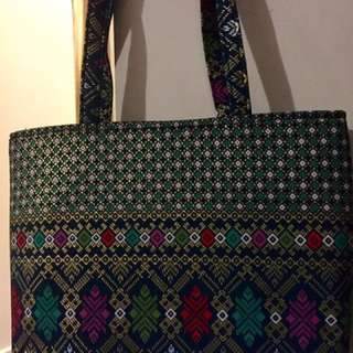 Multicoloured ladies handbag