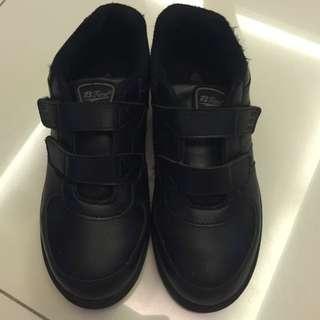Boy black colour school shoes