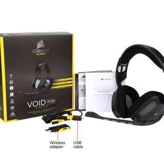Corsair void wireless 7.1 rgb headset