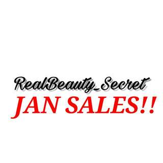 JAN SALES!! VALID TILL 2 FEBRUARY ONLY! COME GRAB YOURS NOW!