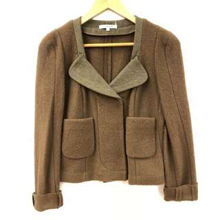 Carven brown jacket size 36