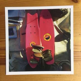 Sungei Uncle Postcard - Skateboard