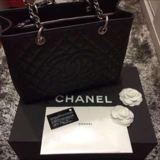 BNIB Chanel GST in Dark Grey