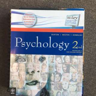 Psychology 2nd edition for AU and NZ
