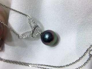超美🆕️新品 鑽石💎蝴蝶🎀 幻彩孔雀綠 18k金卡地亞鏈,精緻非常,有份量有質感,滿分💯推薦