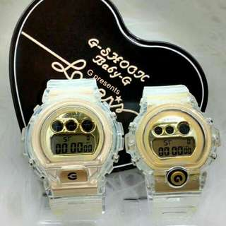 G-SHOCK DW6900 (couple)