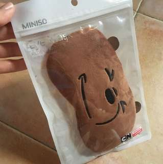 We Bare Bears eye mask from Miniso