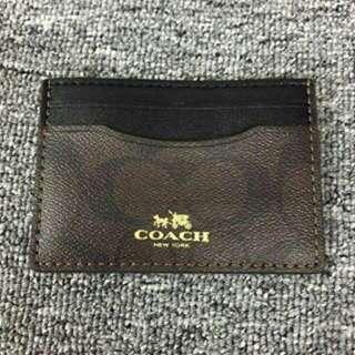 CLEARANCE Coach card holder