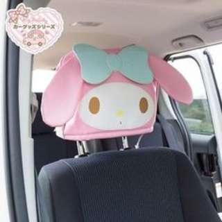 My Melody 車用椅套頭套