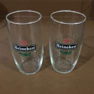 Vintage Heineken Drinking Glass