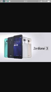 Zenfone 3 5.5 4/64 promo bunga 0%