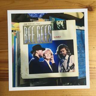 Bee Gees Postcard