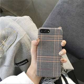 Flannel IPhone 7/8 plus cover