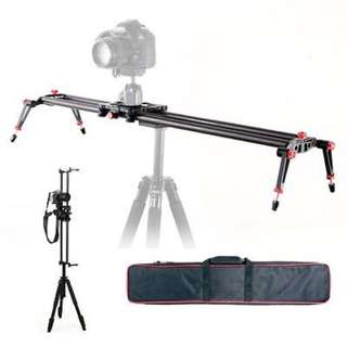 Carbon Fiber Slider for Video Camera Track Stabilizer - 60cm/80cm/100cm/120cm