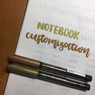 ✨ notebook customization ✨