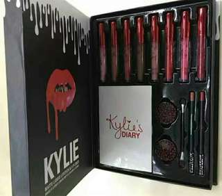 Kylie Lip Kit Diary Collection