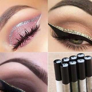 Glitter liquid eyeliner