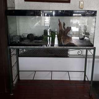 75 gallon Aquarium with stand