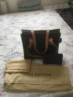 9成新正版 Louis Vuitton 袋和 銀包