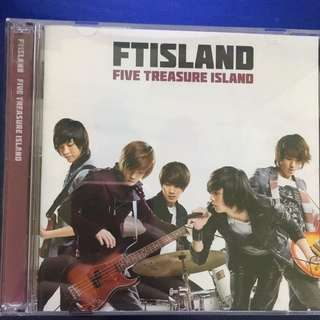 🚚 FTISLAND ~ FIVE TREASURE ISLAND ~CD+DVD