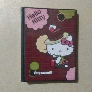 Hello Kitty Sanrio Binder notebook