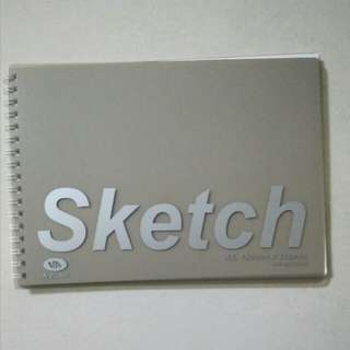 Sketch Book (White Pages)