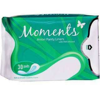 Moments Anion Sanitary Panty Liners