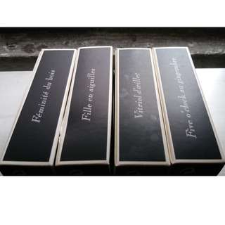 Serge Lutens 5 fragrances in 1ml atomizers