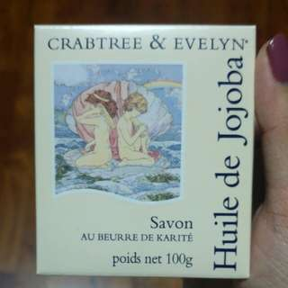 Crabtree & Evelyn Jojoba Oil Triple Milled Soap with Shea Butter