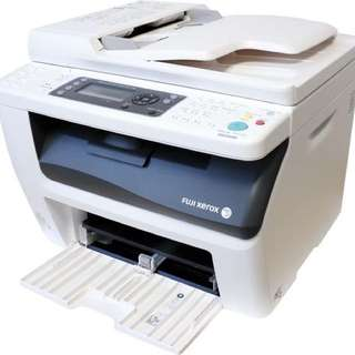 fuji xerox laser color printer cm215 fw (preowned)