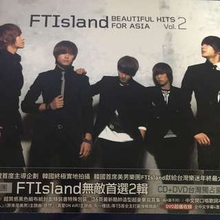 🚚 FTISLAND~Beautiful Hits For Asia Vol.2