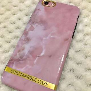 *9折* iPhone 6/6S 粉紅雲石電話殼 CHIC MARBLE CASE phone case
