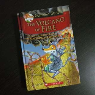 Geronimo Stilton The Volcano of Fire The Fifth Adventure in the Kingdom of Fantasy (Pre-loved)