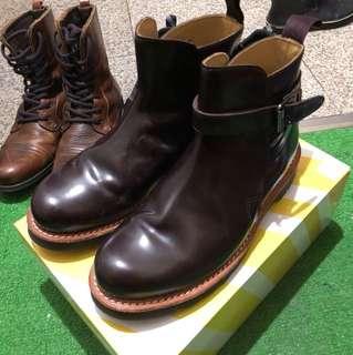 Dr.Martens 咖啡色靴子