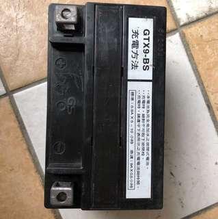中古二手機車電池 9AH 多款