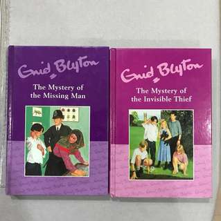 Enid Blyton The Mystery of the Missing Man