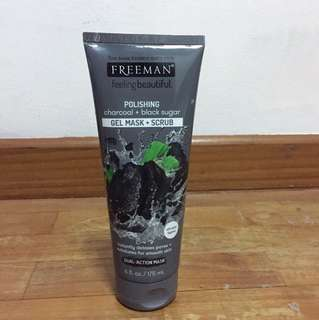 Freeman Polishing Charcoal + Black Sugar
