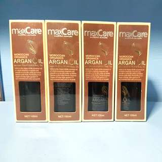 Moroccan organic argan oil for hair