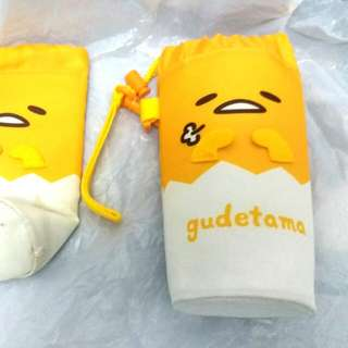 🆕Keep warm authentic Gudetama bottle pouch jacket