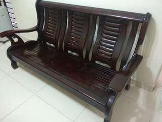 REDUCED in 2019!Solid Wood Vintage Retro Sofa